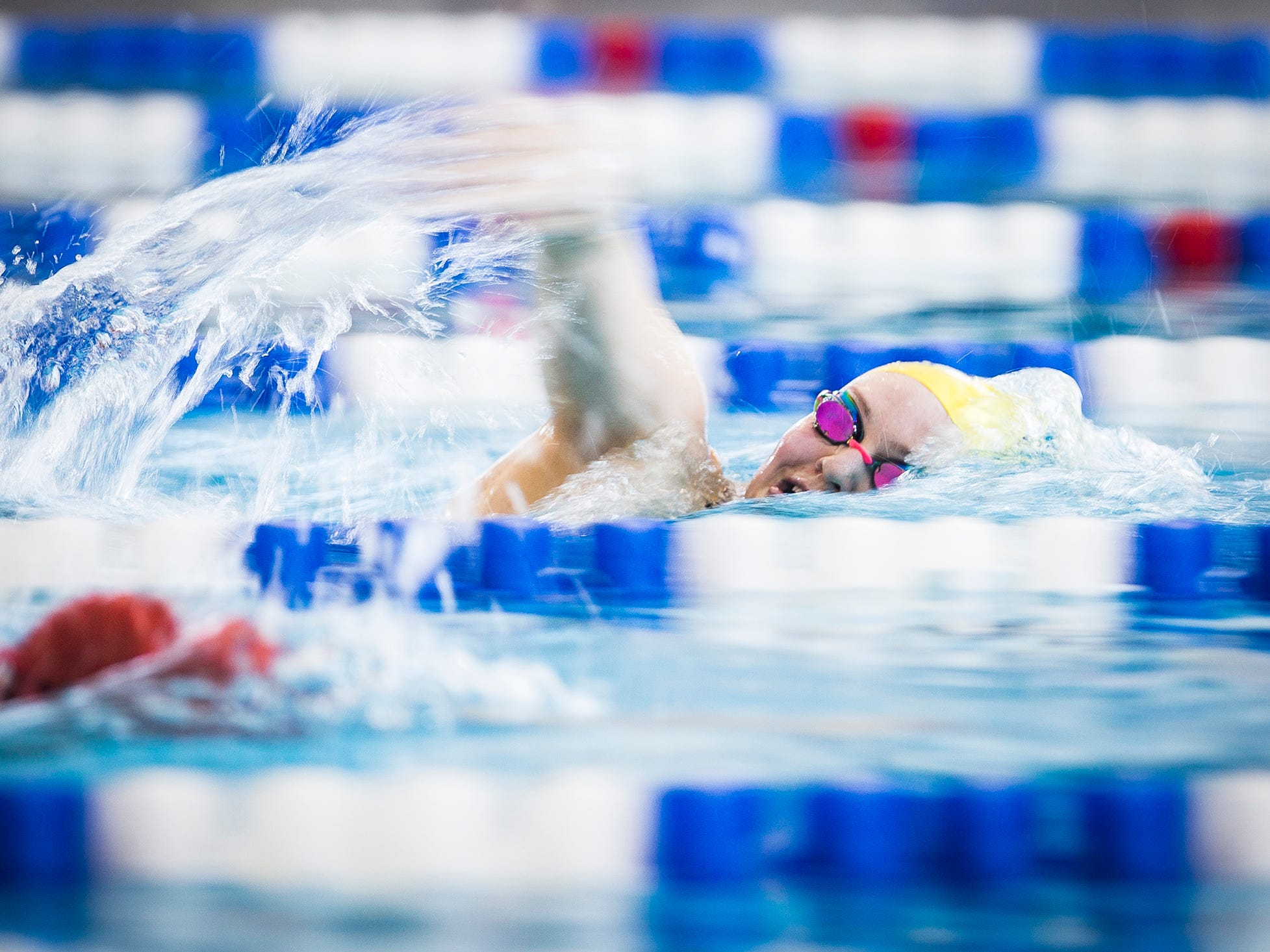 Delta sends swimmer to state, two first-year divers to regional