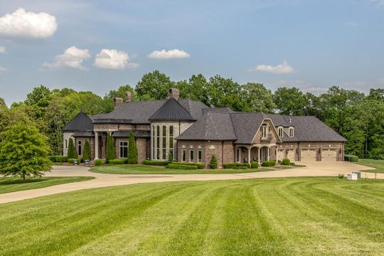 A side view of the home at 7137 Swift Road in Greenbrier, the number one most expensive home sold in Robertson County last year.