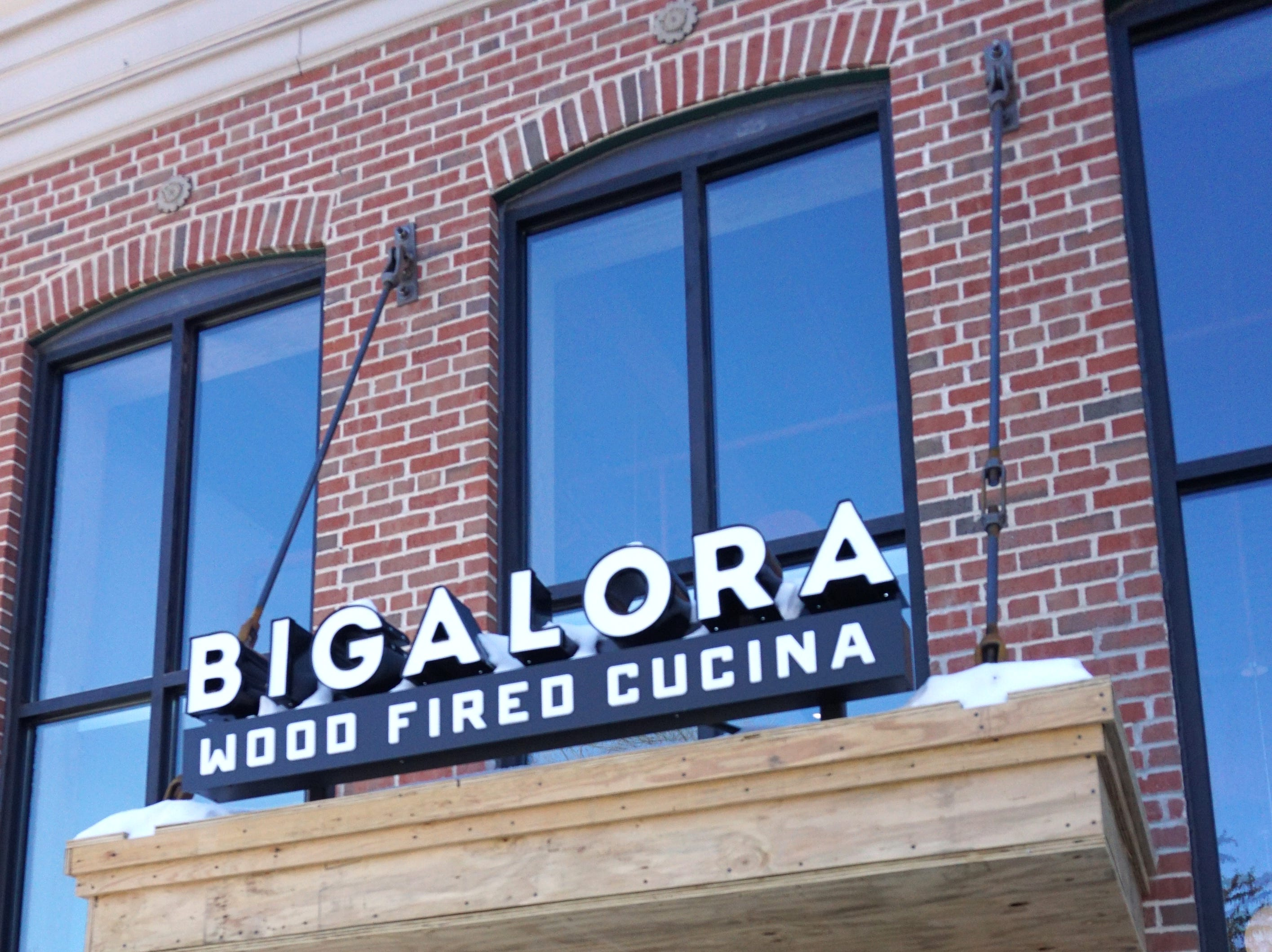The recently-opened Bigalora cucina at 777 W Ann Arbor Trail in Plymouth. The Italian eatery is in the same spot as the former Box Bar in downtown Plymouth.
