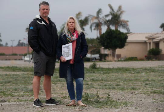 The Indio City Council could decide to overrule a Planning Commission decision denying permits for an 80-bed inpatient mental health facility in Indio. Residents Leslie Dullman and Morgen Bentsen organized and delivered a petition vigorously opposing the planned project.