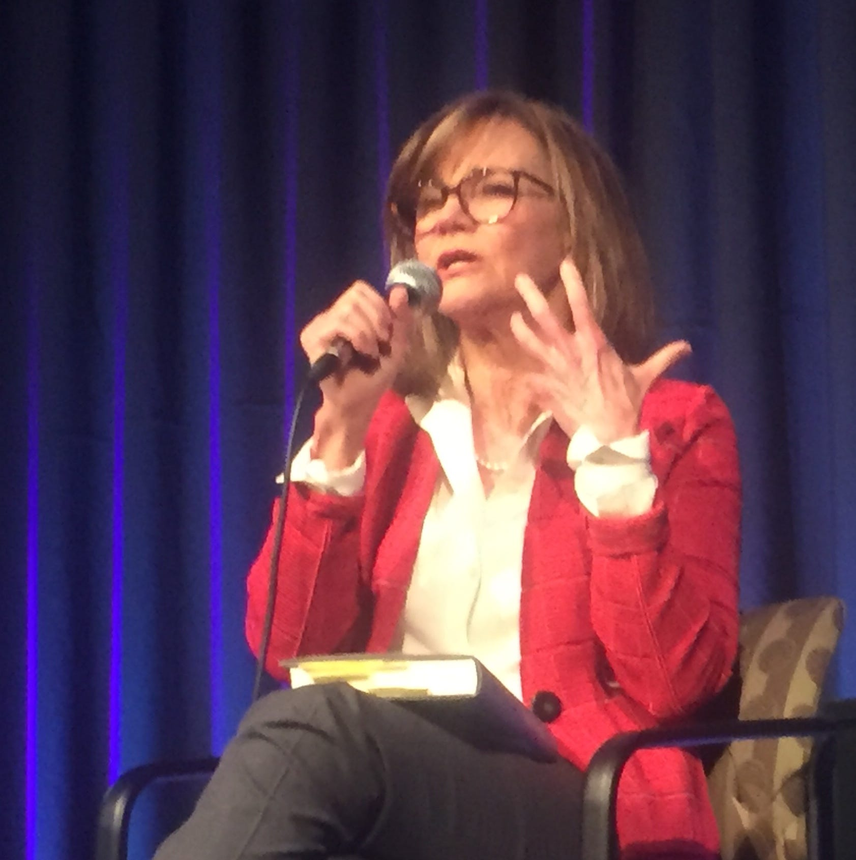 Sally Field picks up pieces of her life and moves on to wrap Rancho Mirage Writers Festival