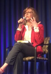 "Sally Field discusses her book, ""In Pieces,"" Friday at the Rancho Mirage Writers Festival"