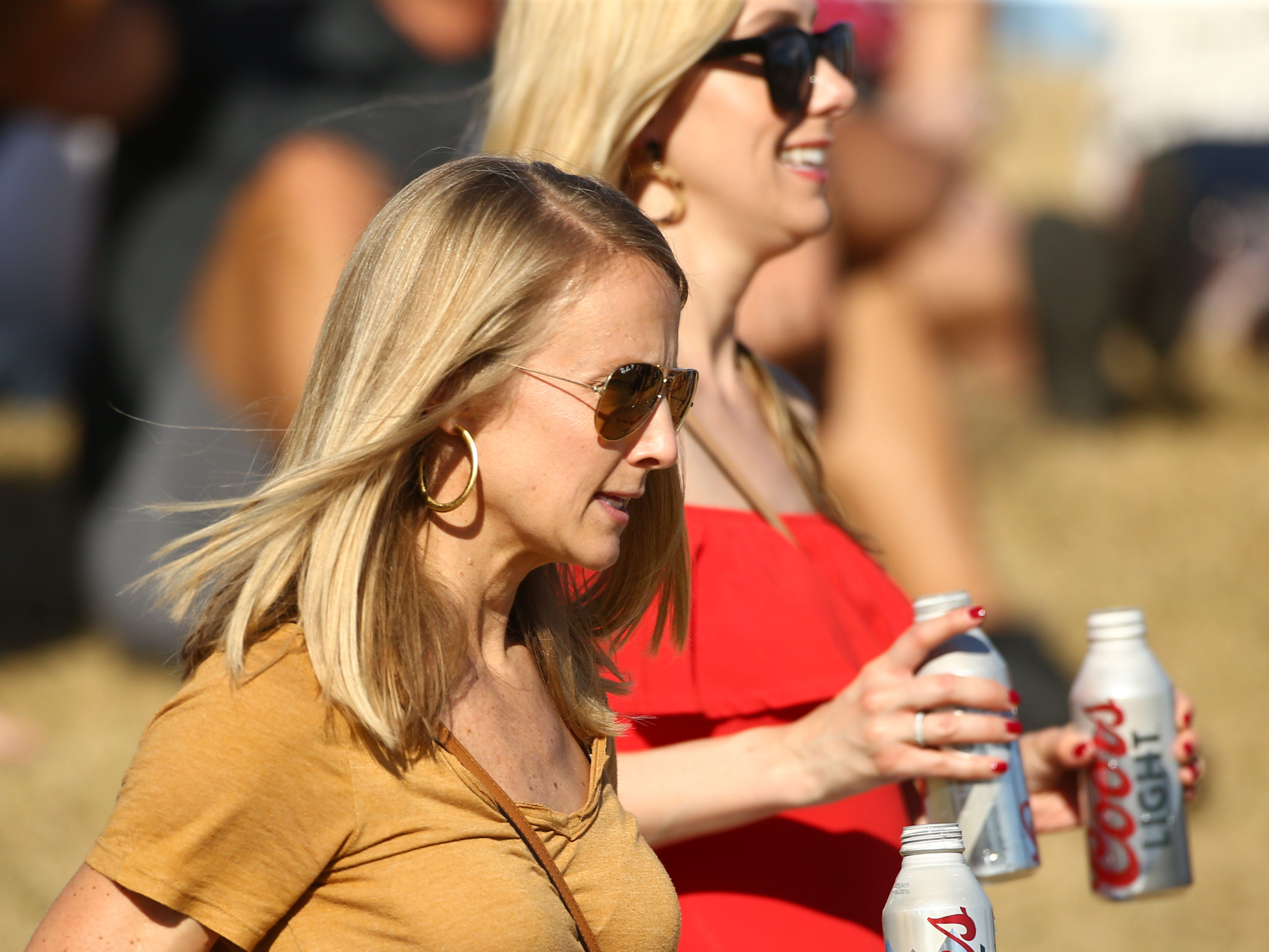 Spectators on the 12th hole during second round action on Feb. 1 during the Waste Management Phoenix Open at the TPC Scottsdale Stadium Course.