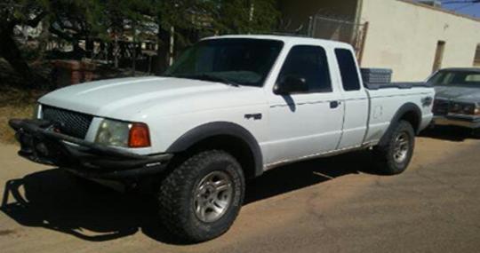 Melkyseddek Munoz-Garcia's truck.