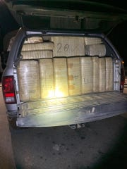 $2 million of methamphetamine was seized by officers.