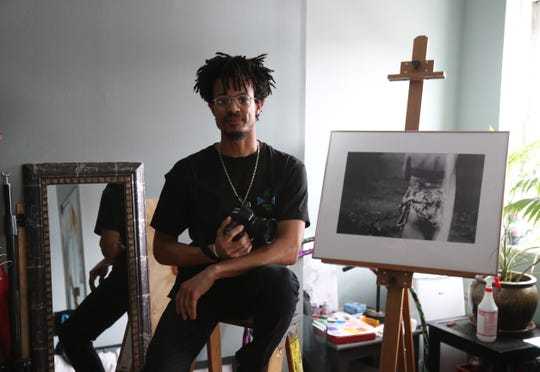 Jeffrey Francis at his home in the City of Poughkeepsie on January 30, 2019.