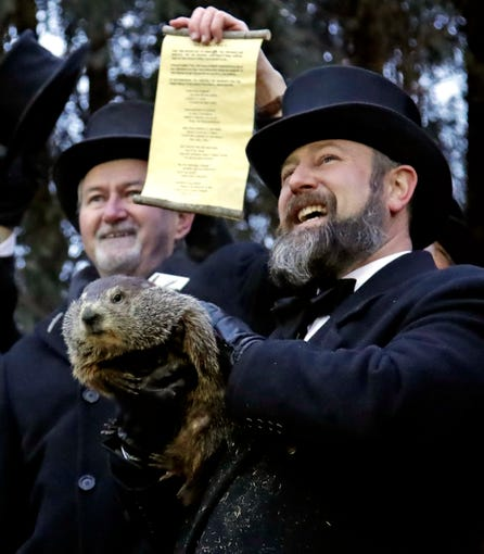 Groundhog Day 2019: Pictures from cold celebration in ...