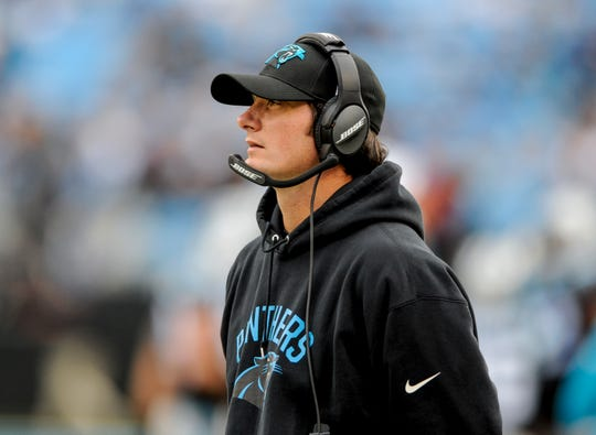 Former Carolina Panthers quarterback coach Ken Dorsey will now have that position with the Bills.