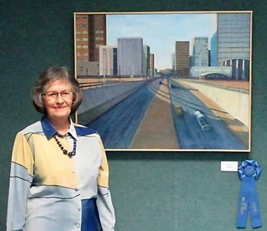 The San Angelo Art Club has named Jean Hoelscher as the 2018 Artist of the Year.
