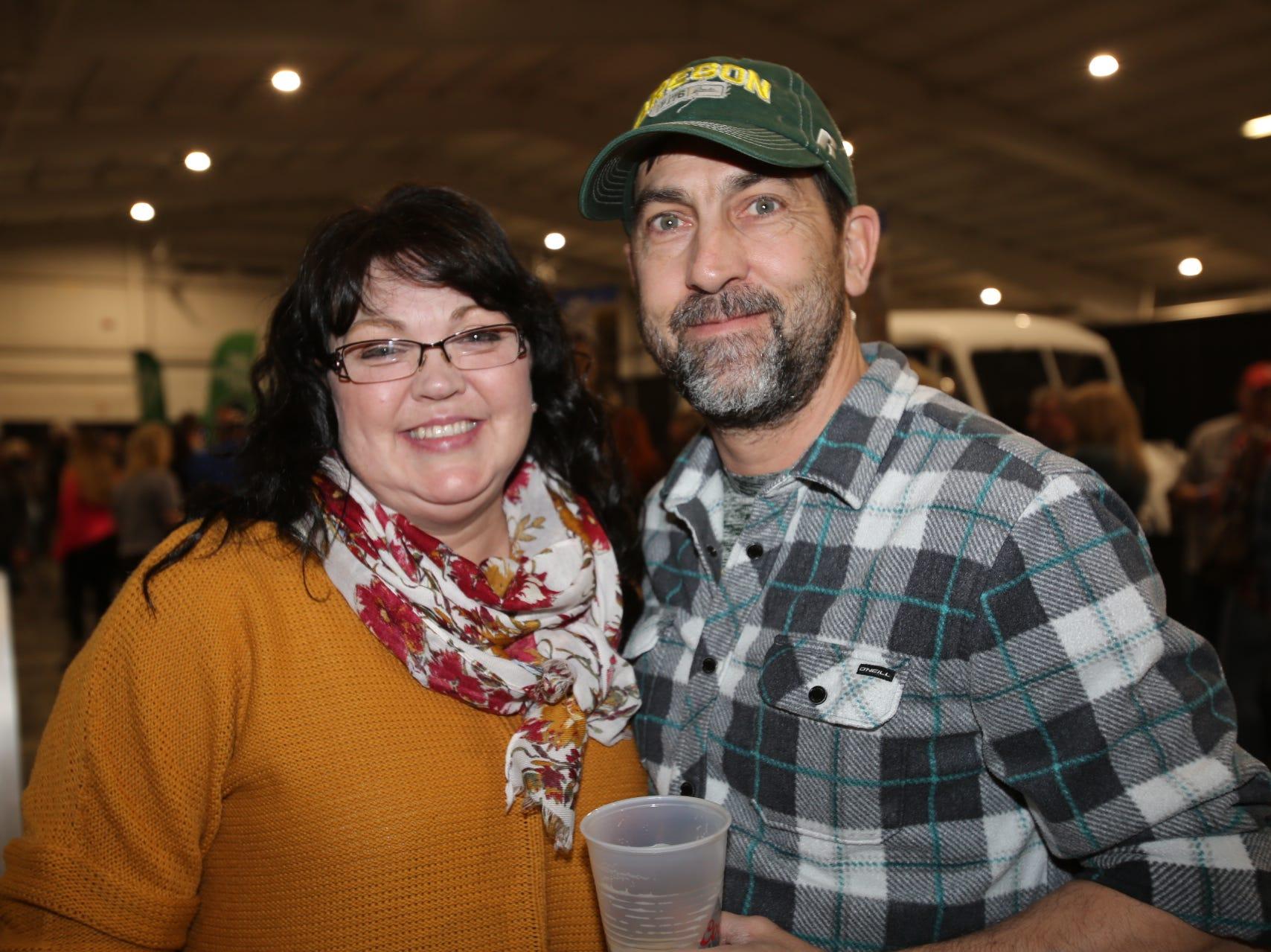 Dorothy and Mark Pugh