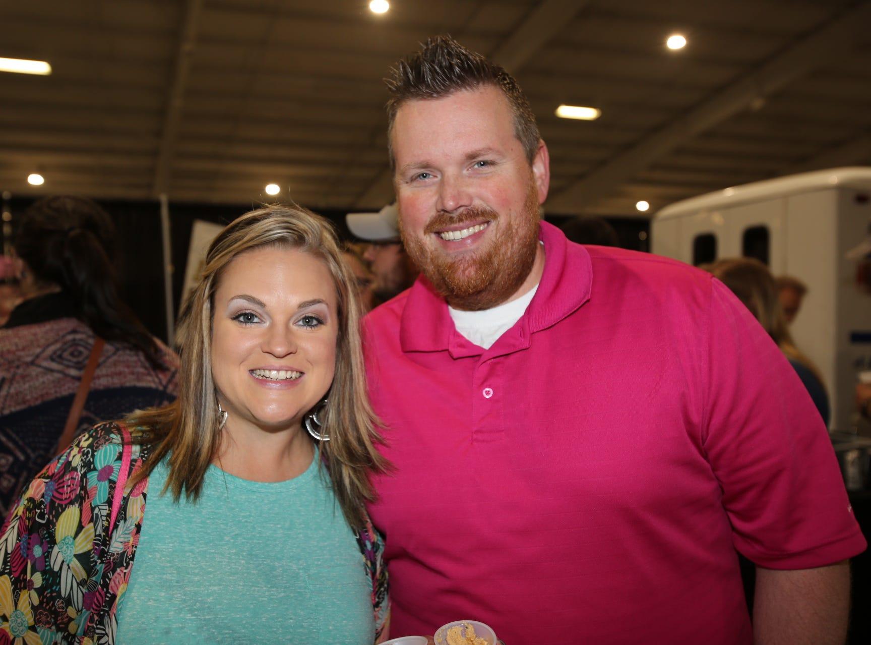 Megan and Kyle Gerhardt