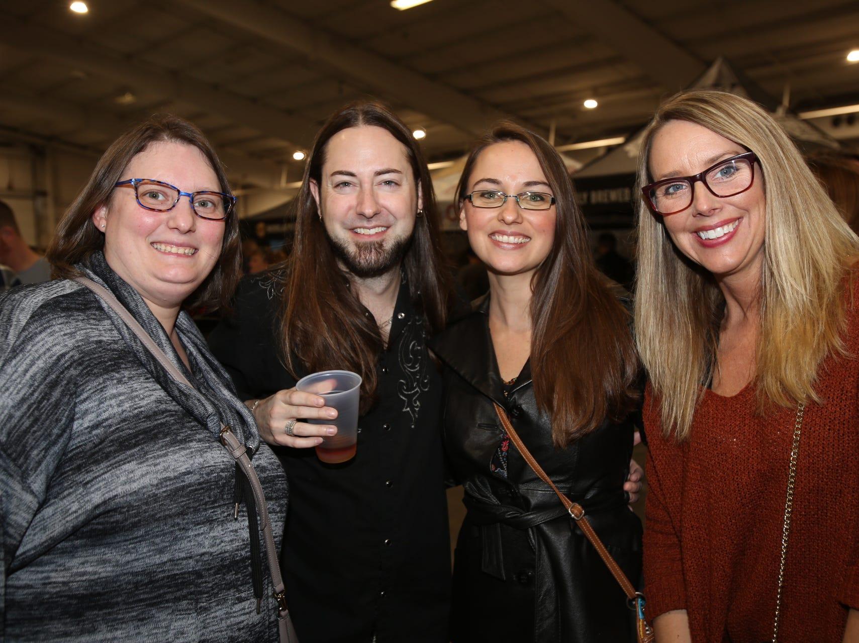 Joy Hendershott, Michael Hitt, Kalie Borders, and Mira McLallen
