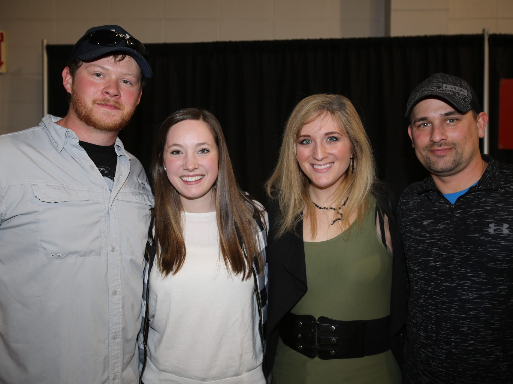 Sam and Randi Garrett and Kayla and Brandon Hillhouse