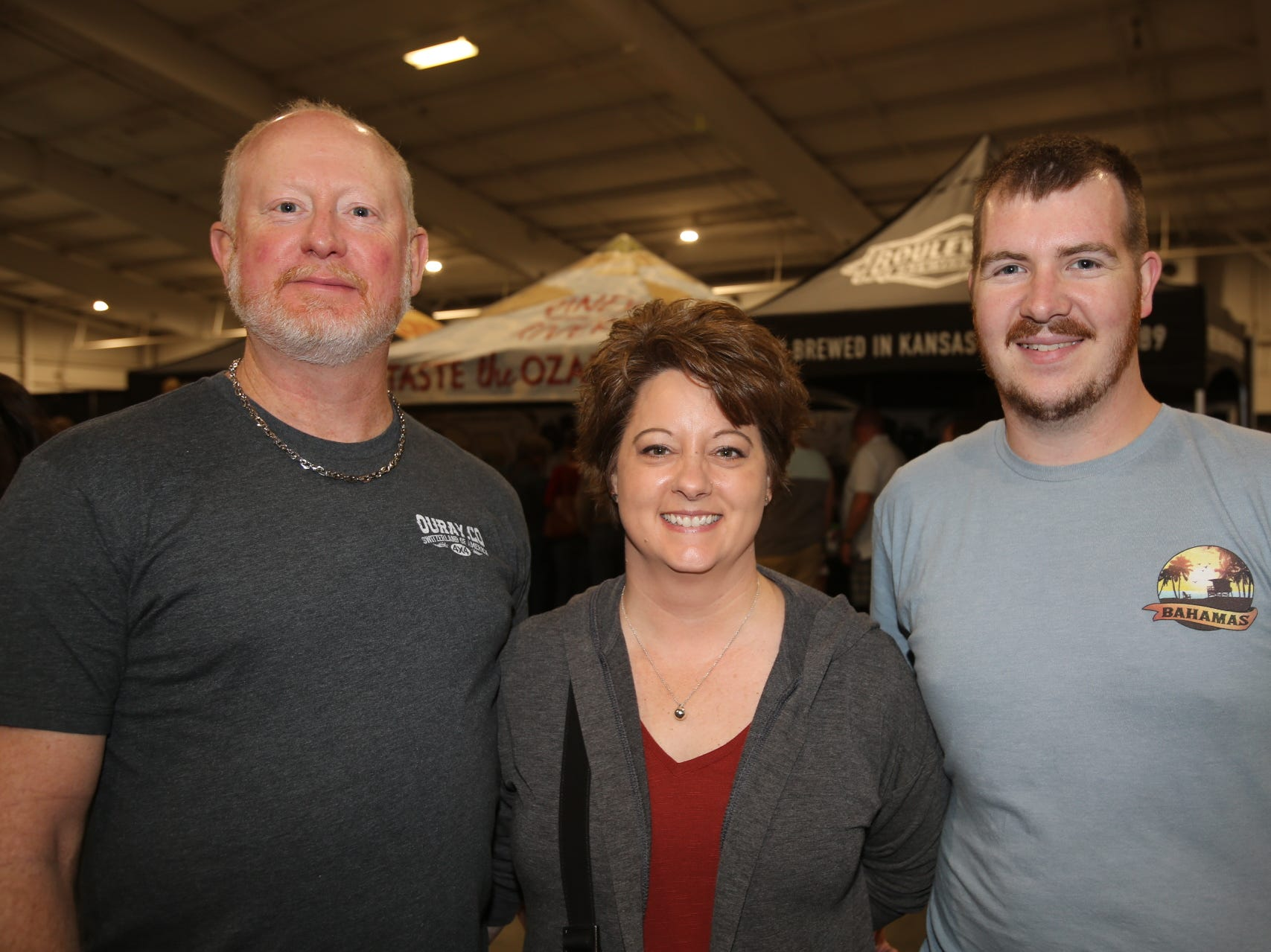 Ryan and Cindy Ransey and Erich Hufford