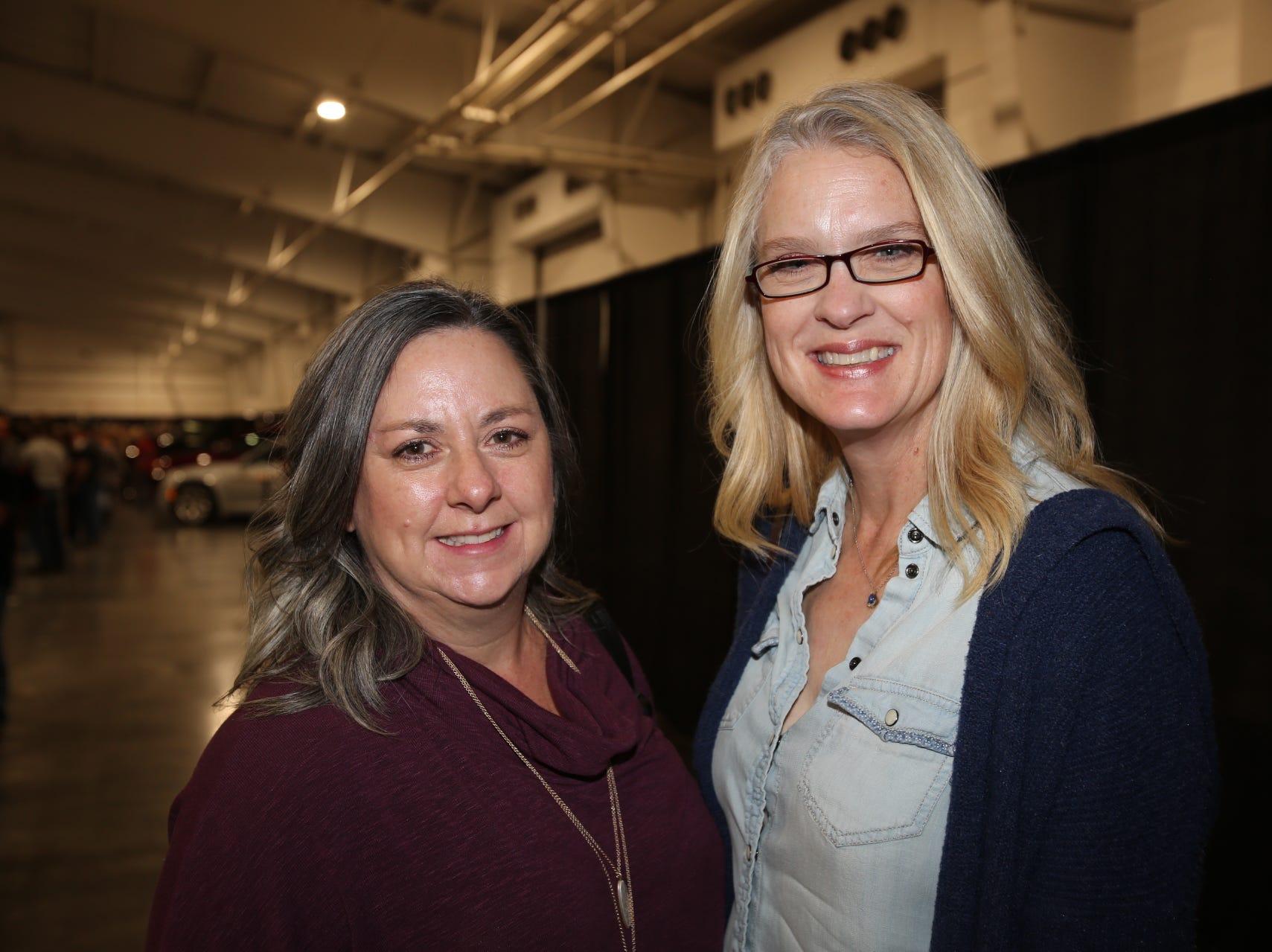 Rhonda Bewley and Cindy Jackson