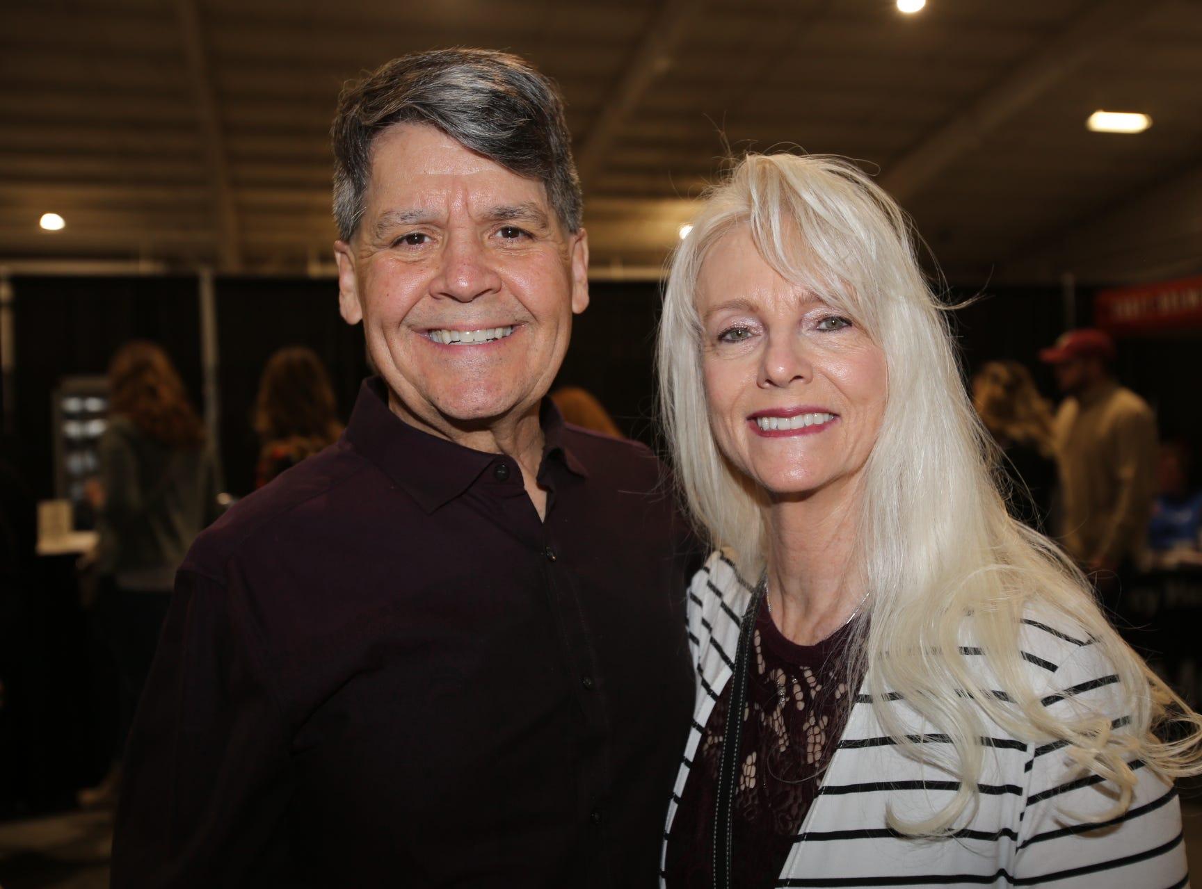 Chuck Ball and Denise Allsop