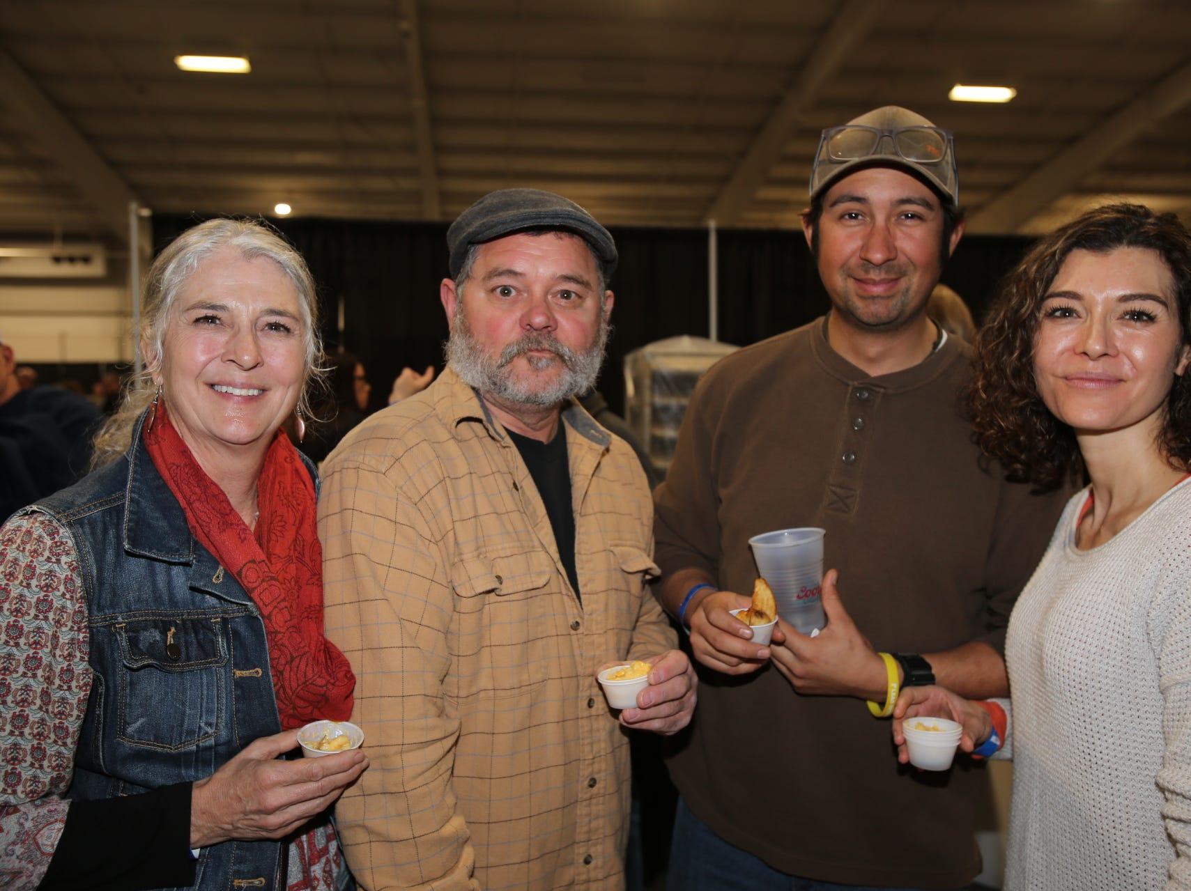 Kristie, Mark, and Hannah Tate and Scott Johnson