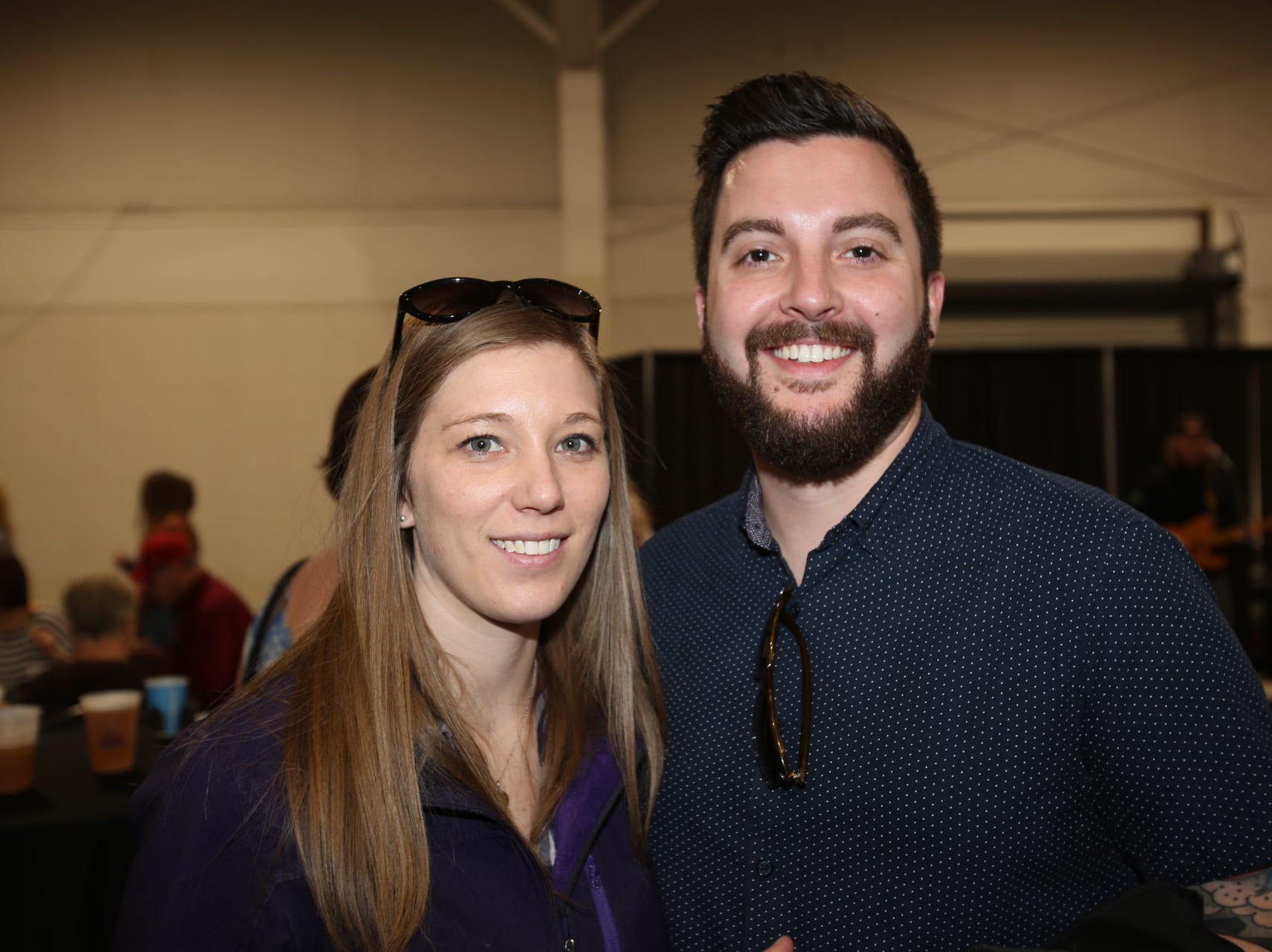 Lisa Cillessen and Dustin Smith
