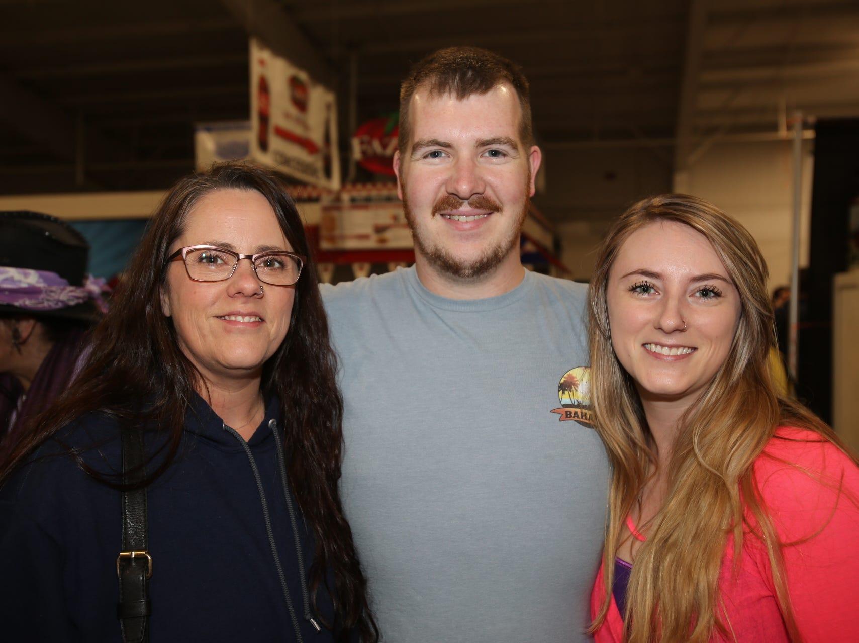 Serena Jenkins, Erich and Kayla Hufford