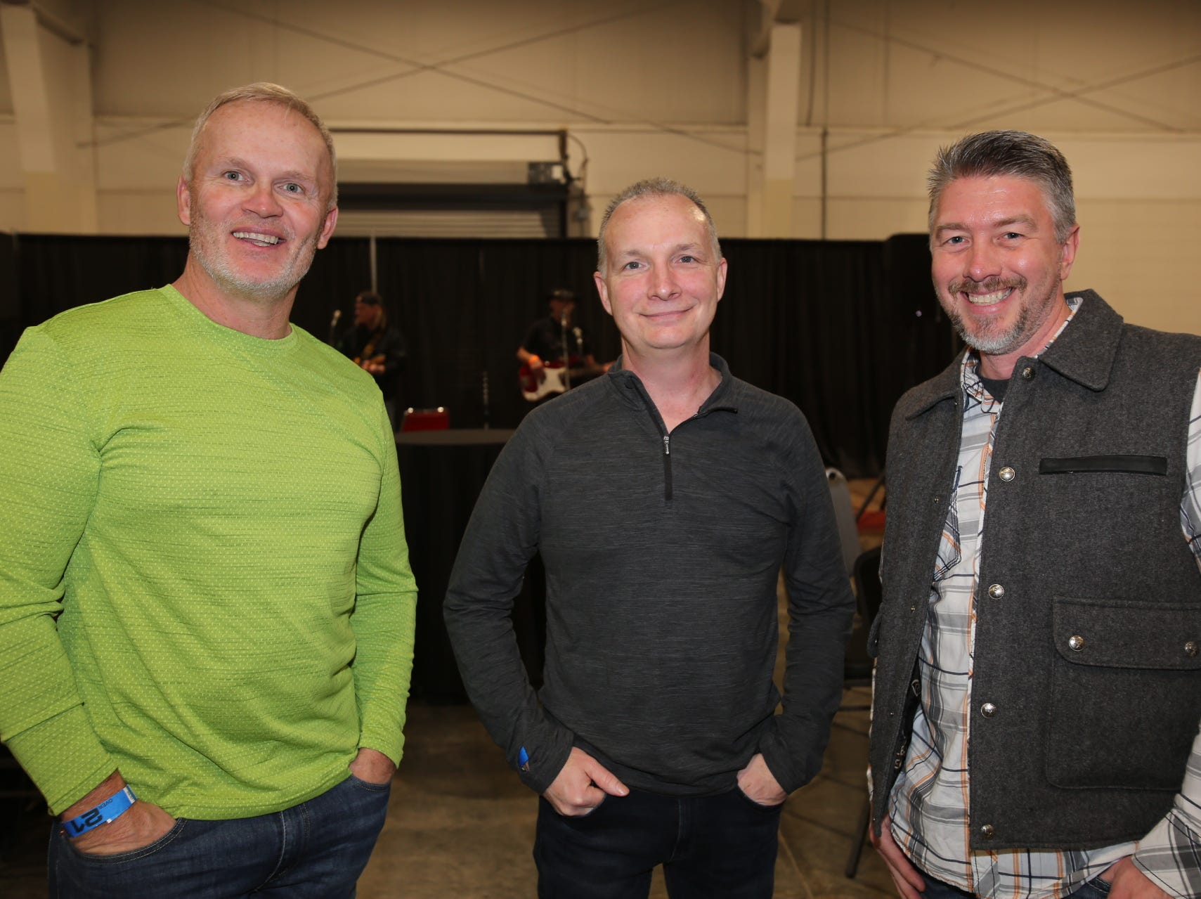 Dennis, Scott and Chet