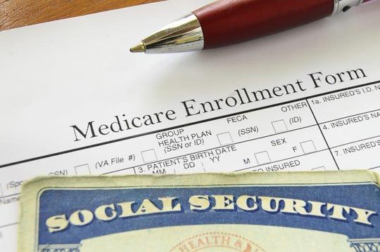 Medicare enrollment.