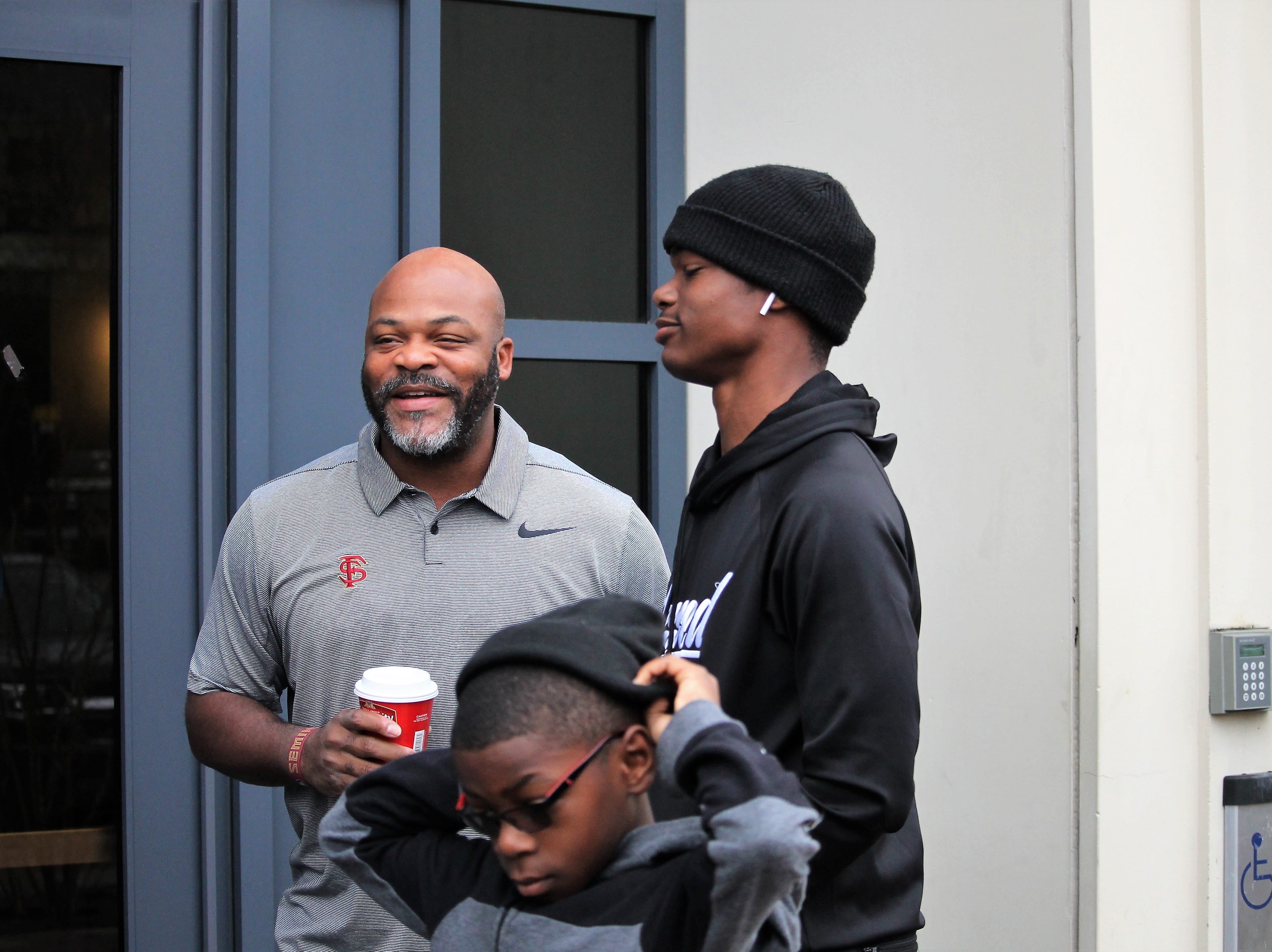 2020 quarterback Jeff Sims at FSU junior day on Feb. 2, 2019