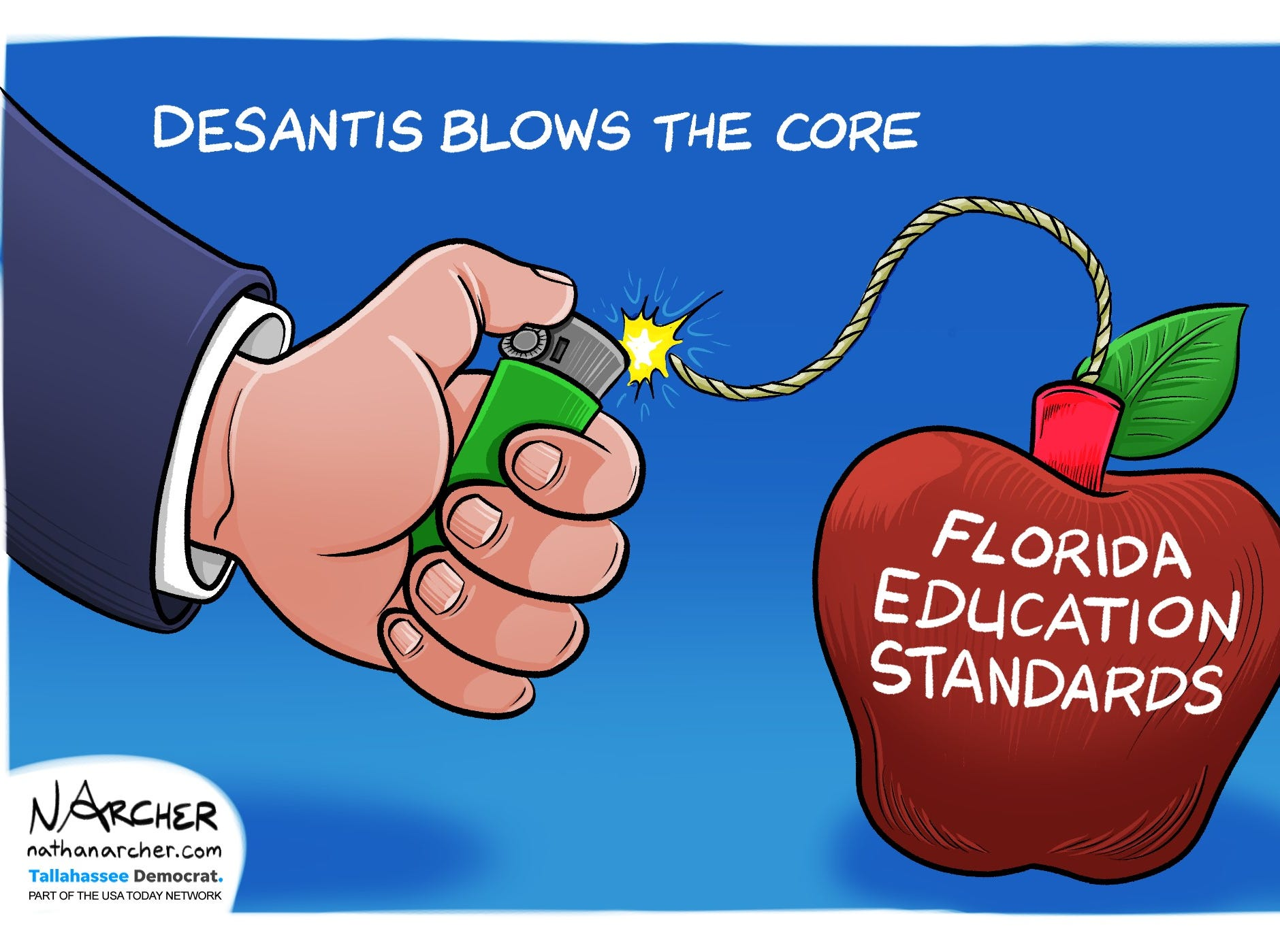 DeSantis blows the core