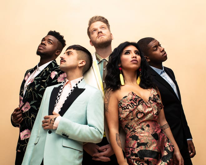Three-time Grammy award-winning group Pentatonix.