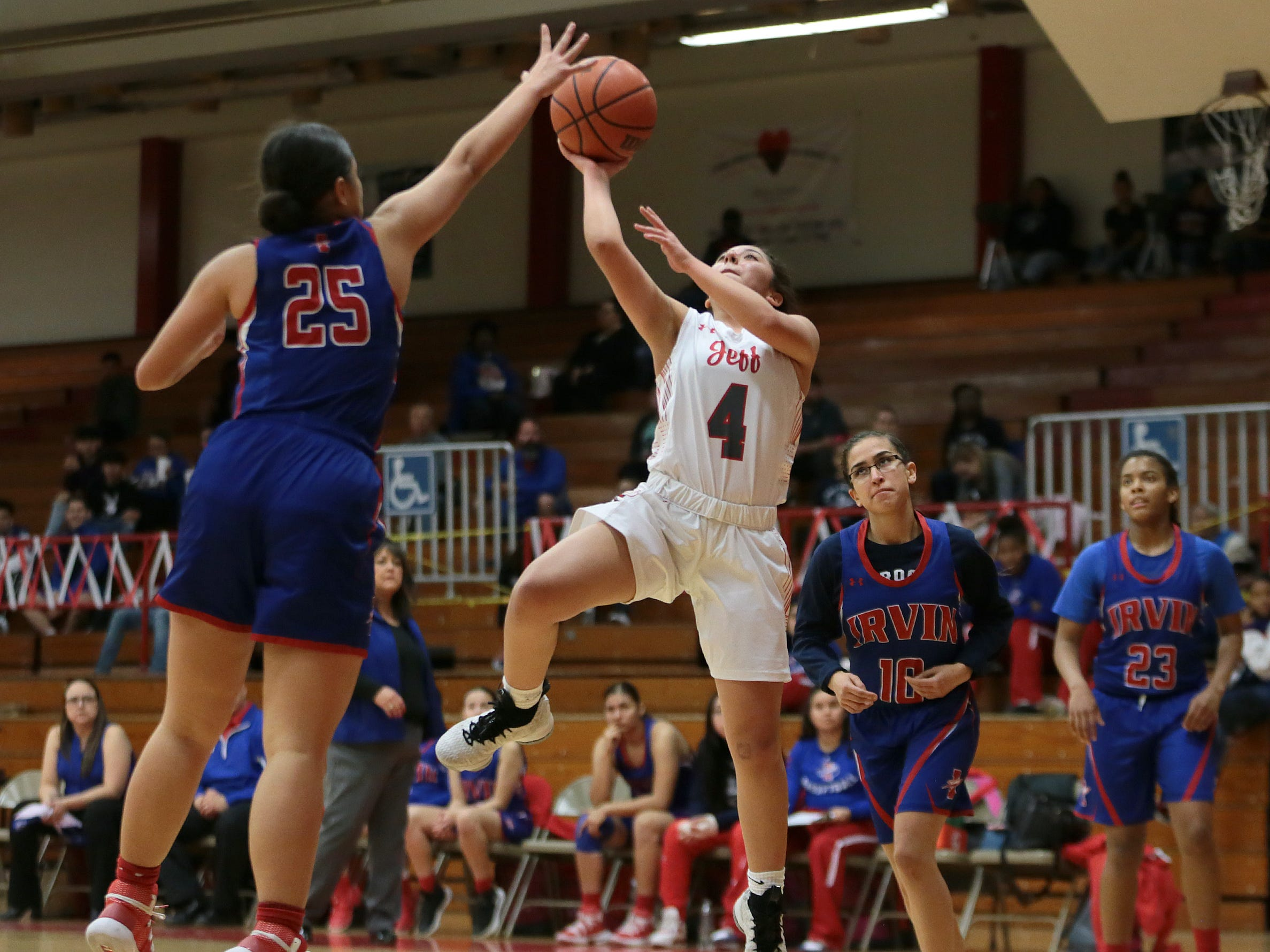 Jefferson Girl's Basketball Takes on Irvin