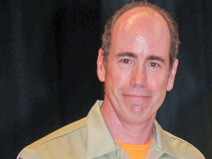 Jef Dye, 50, of Thousand Oaks, was killed Saturday morning along Interstate 5 while he was travelling with a search-and-rescue team to a training session.
