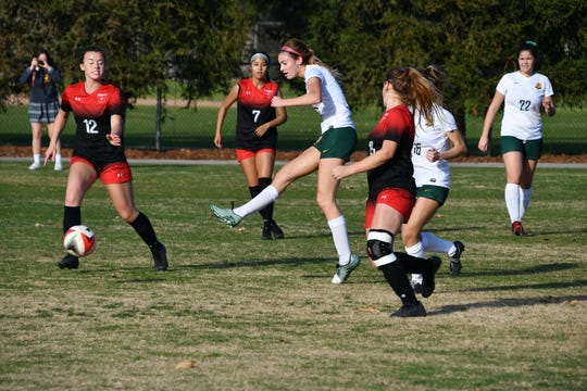 Jasmine Krostag of La Reina was named the Offensive MVP of the Tri-Valley League.