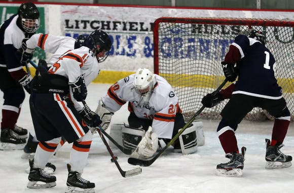 Goalie Arye Wolberg and Greeley recovered from a late-season slide and closed out with a four-game winning streak. The Quakers fell in the championship game last season.