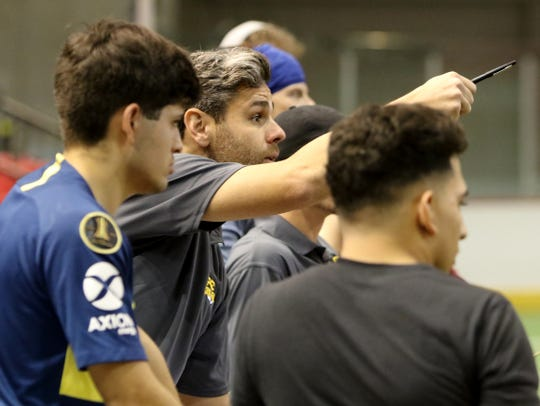 Sixty-three hopefuls gathered Saturday, Feb. 2, 2019, for FC Wichita Falls tryouts in Kay Yeager Coliseum.