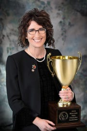 Jenny Markham-Gehl from the greater Milwaukee area , was named Champion at the 2019 Wisconsin Auctioneers Championship Contest. The championship auctioneering contest was hosted by the Wisconsin Auctioneers Association (WAA) at their annual convention at the Holiday Inn Convention Center in Stevens Point, WI on Jan. 27.