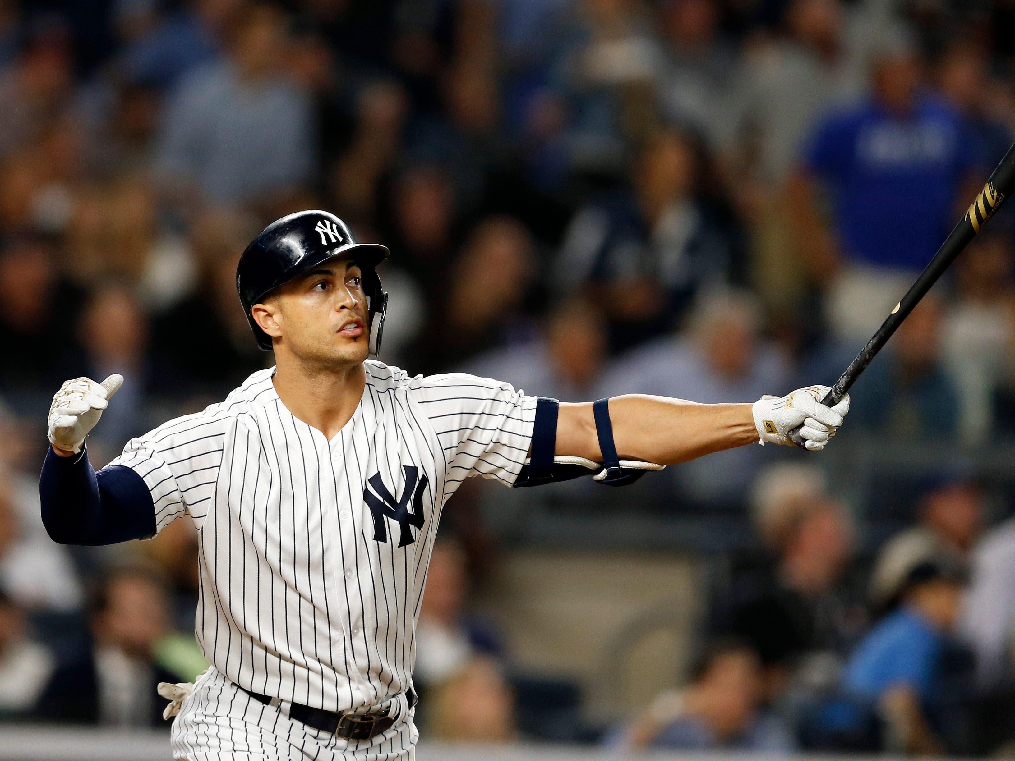 OF Giancarlo Stanton, Yankees:  $26,000,000