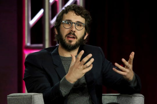 """Josh Groban participates in the """"Josh Groban Bridges: In Concert from Madison Square Garden"""" press conference during the PBS presentation at the Television Critics Association Winter Press Tour."""