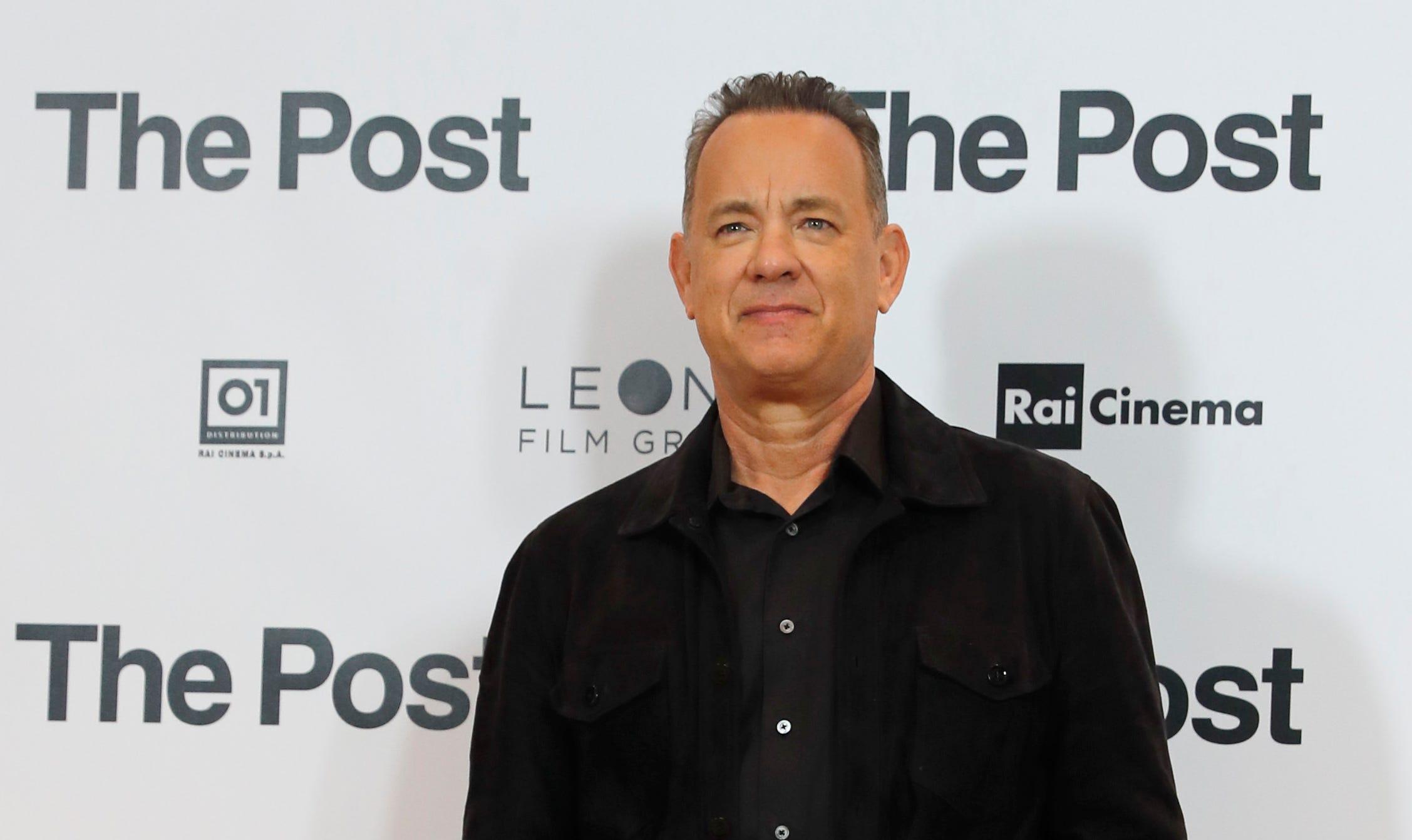 """Tom Hanks starred in 2017's """"The Post."""""""