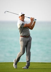 Sergio Garcia was disqualified from this week's European Tour event for damaging several greens during the third round.