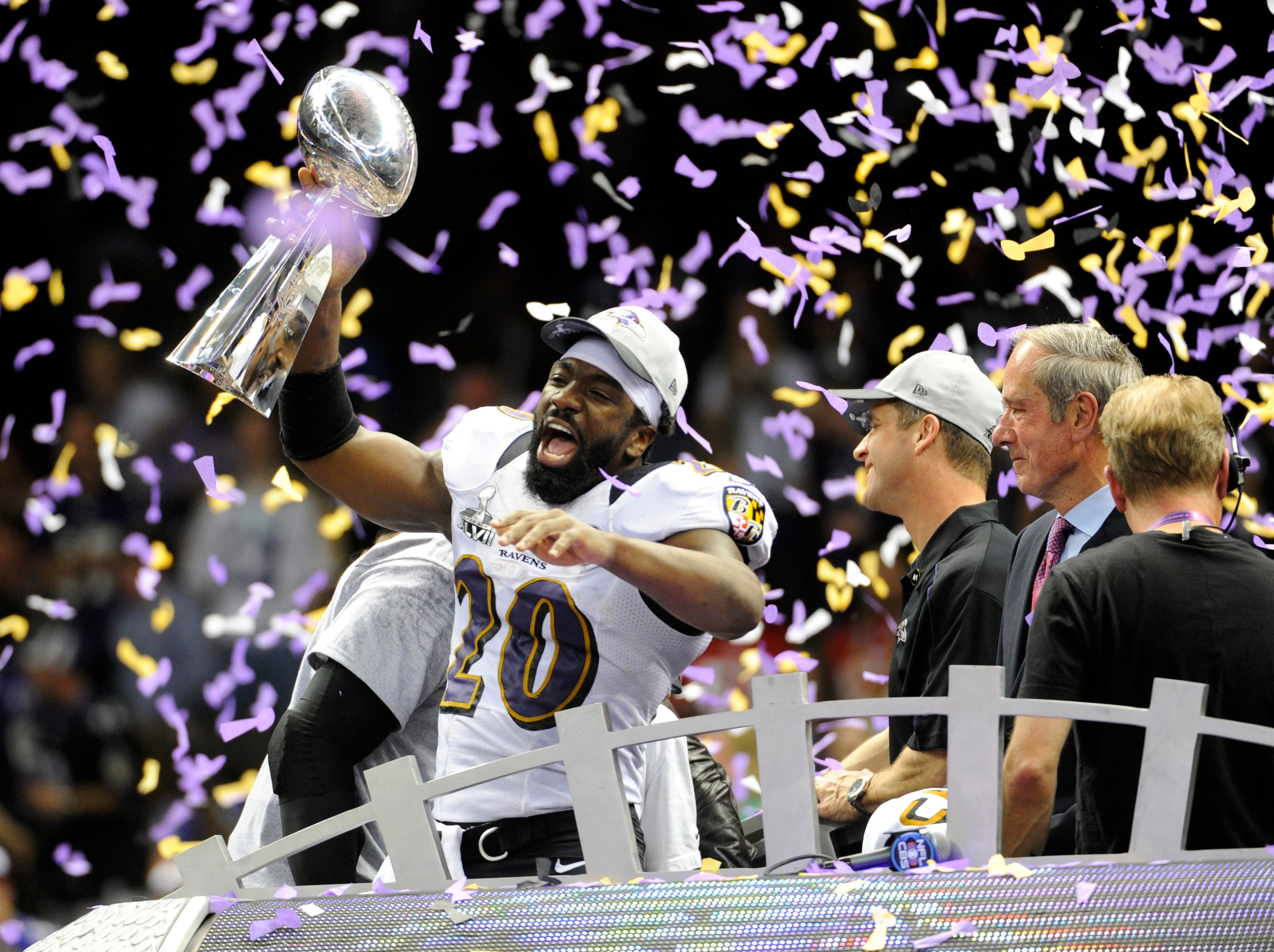 Ed Reed was a five-time all-pro who made nine Pro Bowls. He was the defensive player of the year in 2004 and won Super Bowl XLVII with the Baltimore Ravens. He retired with 64 career interceptions and 13 touchdowns.