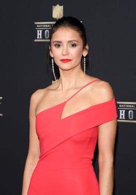 Nina Dobrev attends the 8th Annual NFL Honors at The Fox Theatre on February 02, 2019 in Atlanta, Georgia.