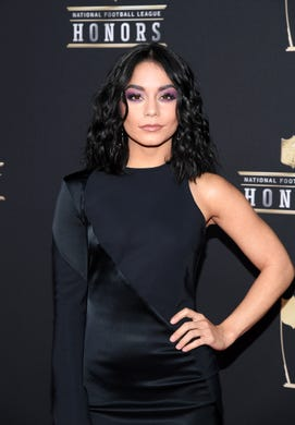 Vanessa Hudgens attends the 8th Annual NFL Honors at The Fox Theatre on February 02, 2019 in Atlanta, Georgia.
