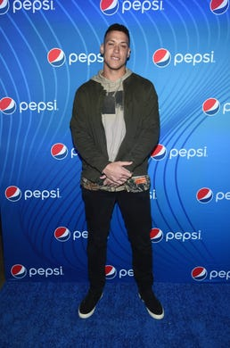 "Aaron Judge attends ""Planet Pepsi"" Pre-Super Bowl LIII party, featuring Travis Scott, on February 1, 2019 in Atlanta, Georgia."