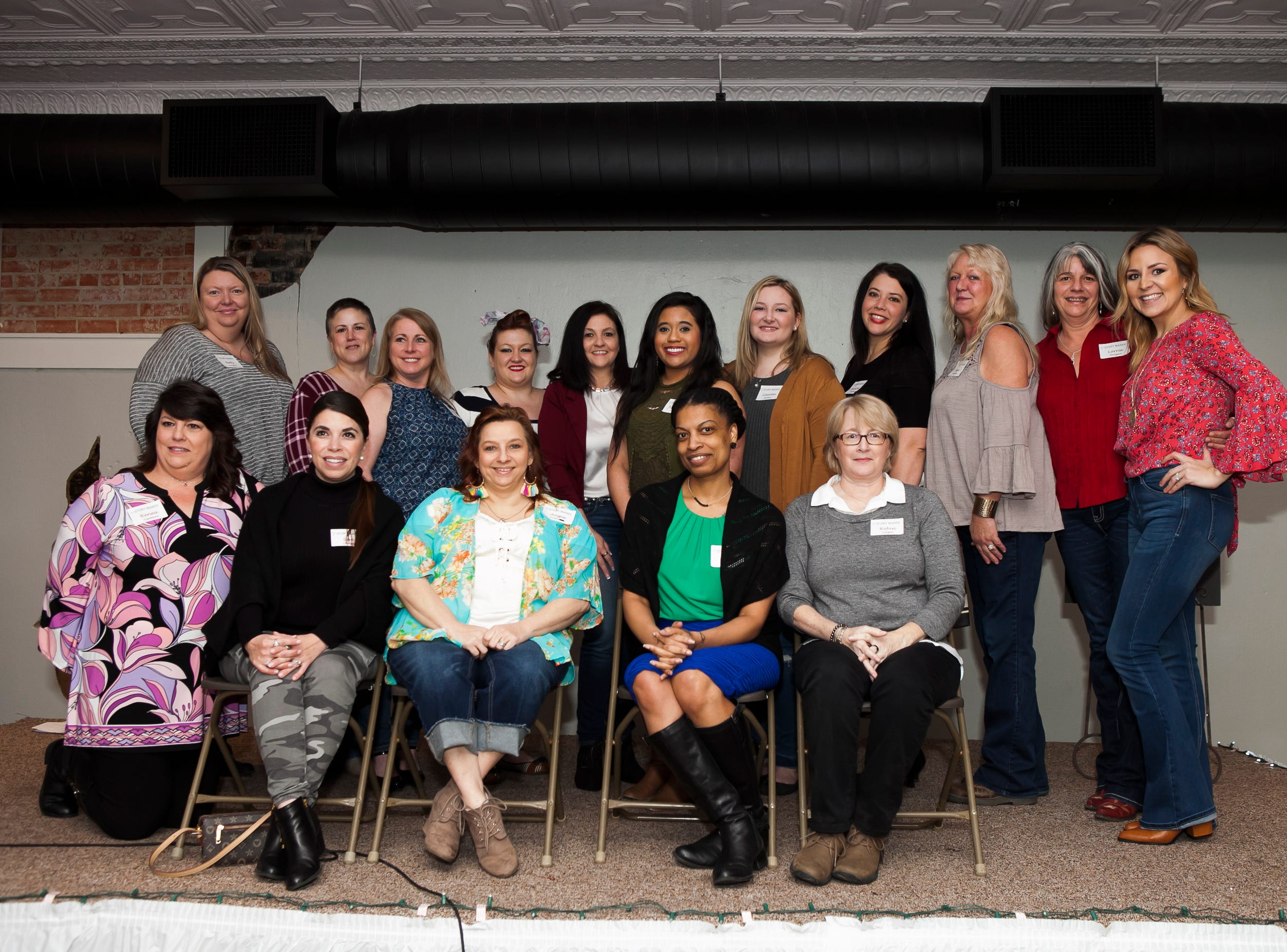 """Story Marks,"" an event highlighting women who have tattoos and the stories behind them was held Friday, Feb. 1, 2019 at Willowbench Meeting Place in Pineville. ""We've recruited 18 women and their stories behind their tattoos,"" said Belle Chatelain, one of the event organizers. Chatelain said Story Marks is a division of Stonecroft, a non-profit ministry.  ""These are events that have been around the nation for the last - probably three years,"" explained Chatelain. ""They've been  in about 30 states. And we're the first to bring one to Louisiana."" The women and their tattoos were photographed by local photographer Susan Merritt Stevison. The photographs of the women, the tattoos and their stories were on display. ""We've been planning this for months,"" said Chatelain. The event is about building community, crossing cultural, religious denominations, socioeconomic differences and boundaries, she explained. ""To bring women together because we are a community of women and our message is that your story matters,"" she added. ""That every woman has a story. We come together and share our stories we'll see how much we have in common versus how much that we're different."" The event emcee, Wendi Bryant, is leading a community group call Themes at the Rapides Parish Library on Wednesday nights for four weeks to teach women how to write their life story. Molly Townsend dcoumented Friday's event. Tammie Thames, owner of Willowbench, donated the meeting space for the event."