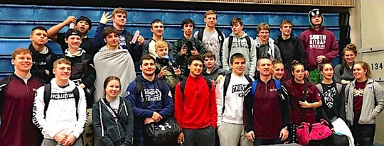 South Kitsap's wrestling team captured the South Puget Sound League 4A tournament title on Saturday at Rogers High School in Puyallup.