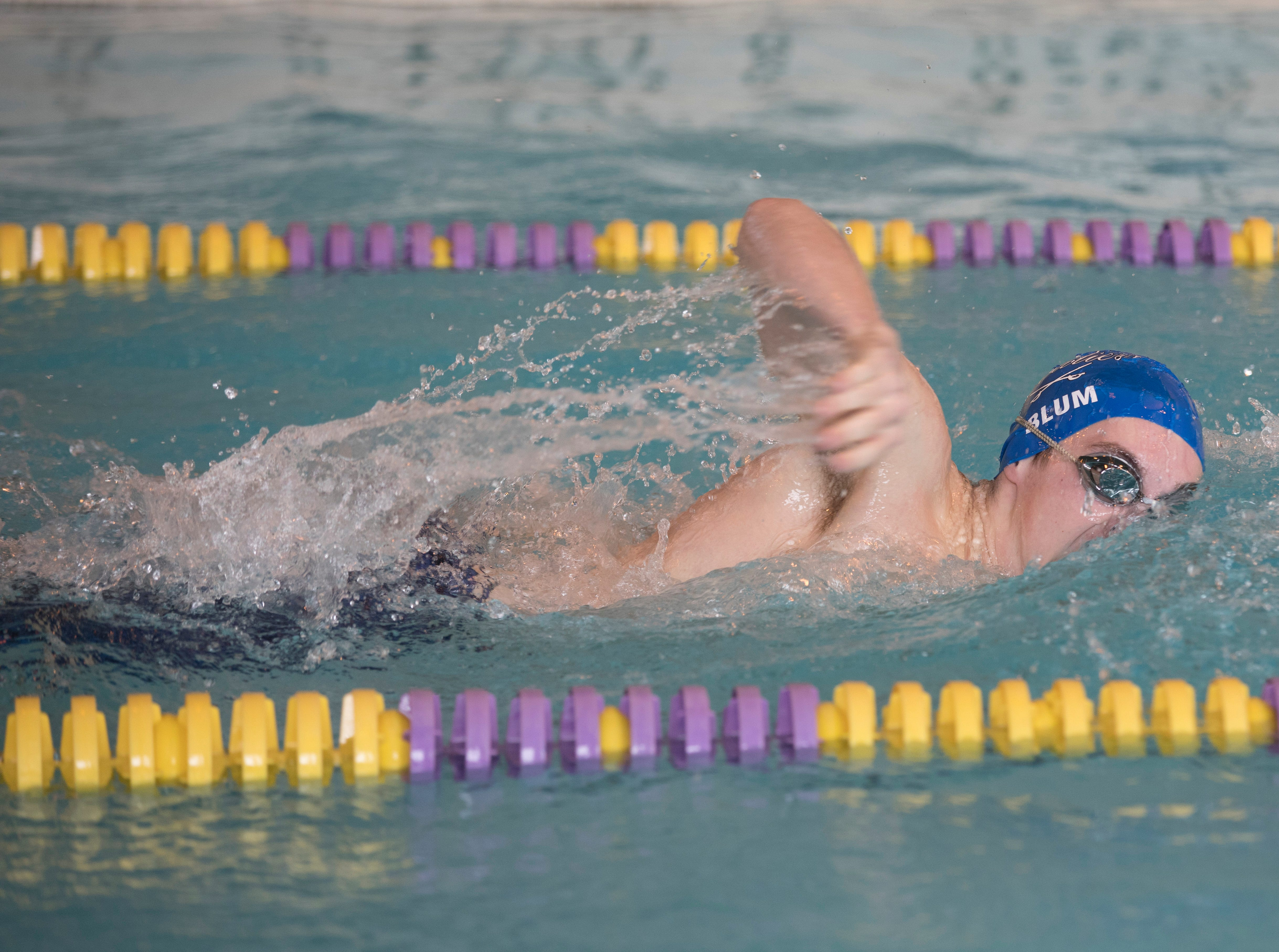 McClain High School hosted the 2019 FAC swimming championships on Saturday, Feb. 2, 2019, in Greenfield, Ohio. The Chillicothe boys team took second place, while the girls took first.