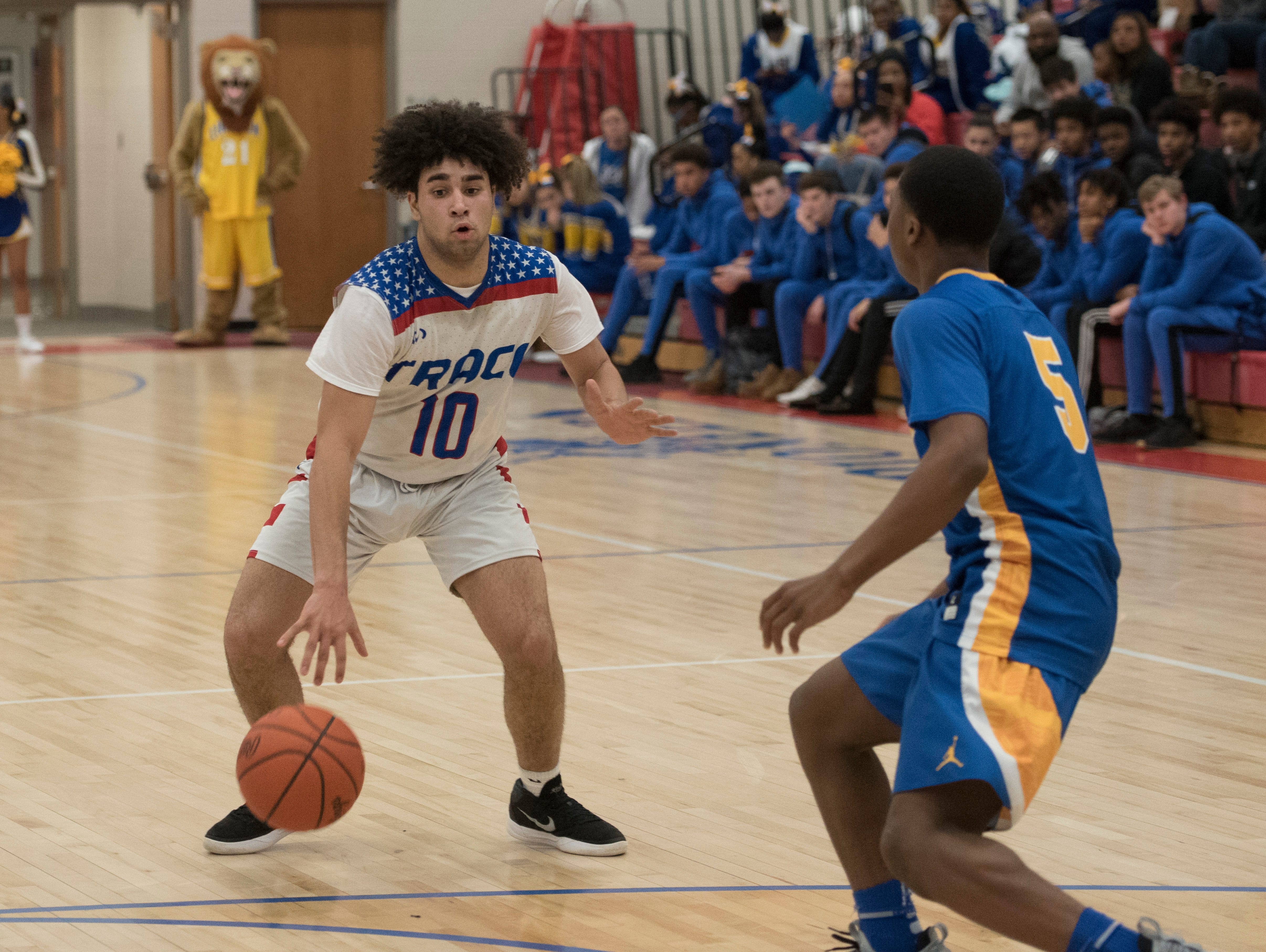 Zane Trace fell to Gahanna Lincoln 63-46 Saturday night at Zane Trace High School. The Pioneers are now 14-4 for the season and