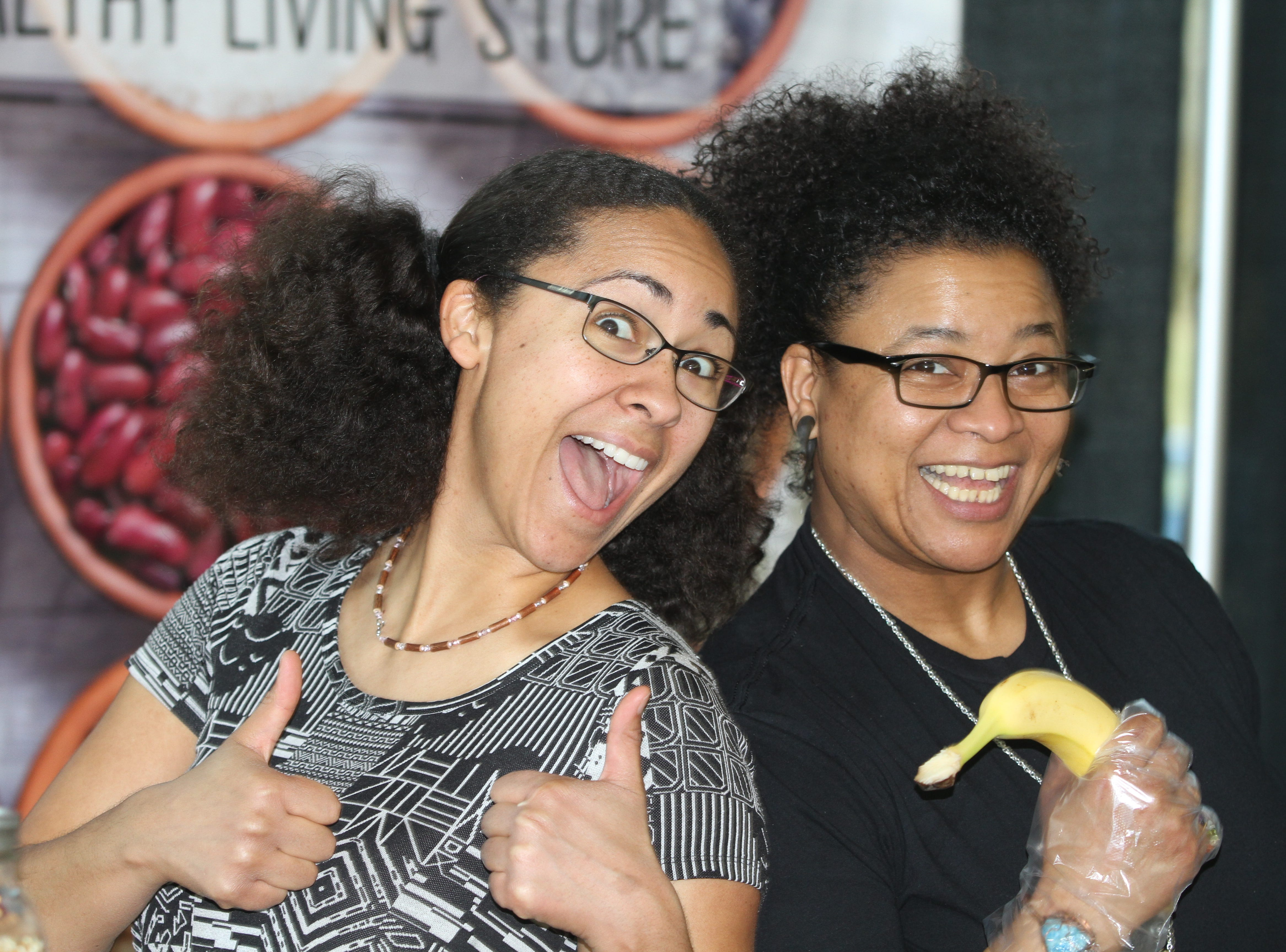 Shani Simms and Eileen Andrews offered up Seasons Market treats, chocolate covered bananas, and lots of enthusiasm during the 7th Annual Chocolate Affair at Wilma Rudolph Event Center Saturday, February 2, 2019 . The sold-out event saw hundreds of guests enjoying chocolate creations from more than a dozen local and national vendors.