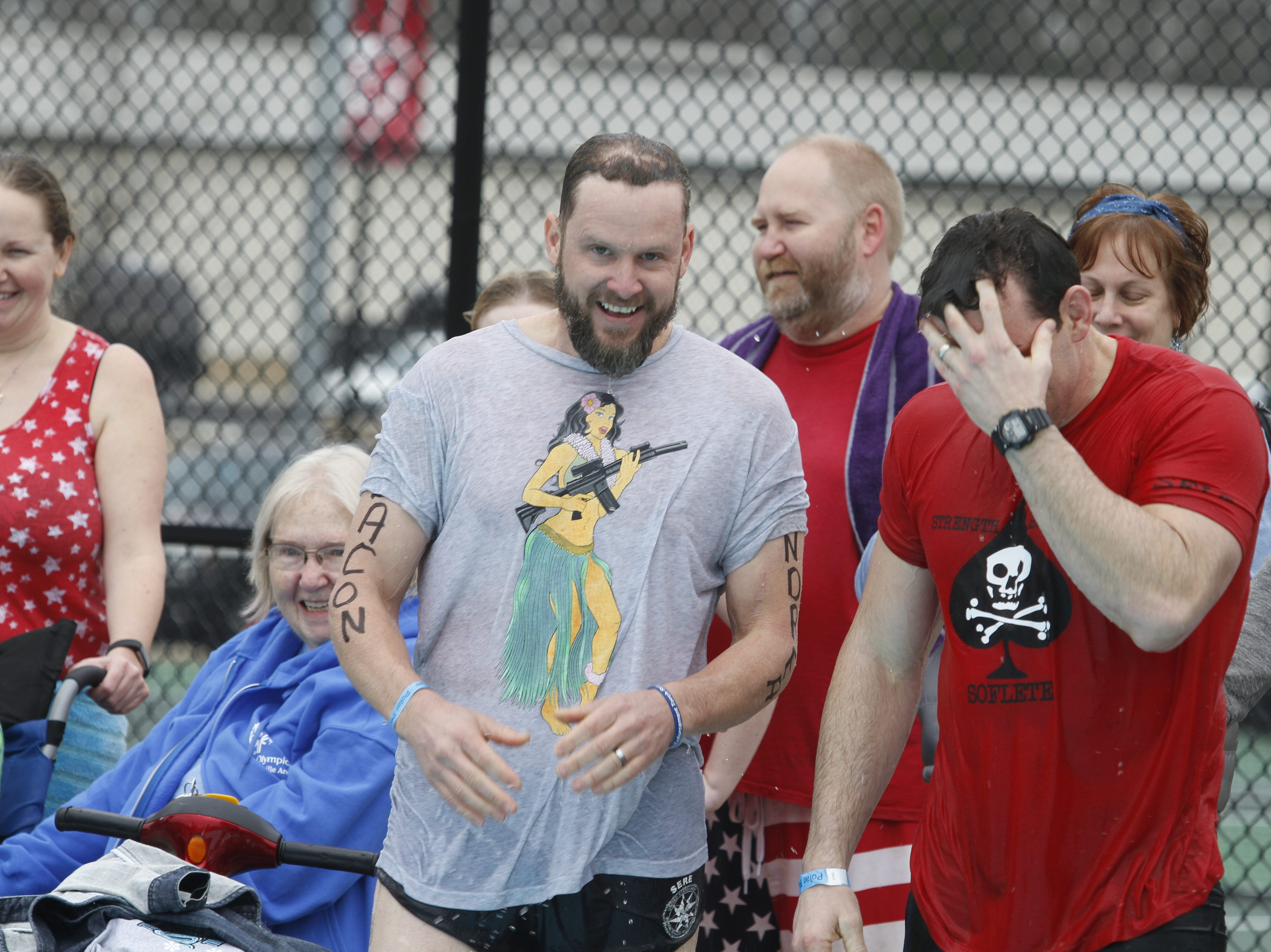 Dozens of participants came out for the Special Olympics Polar Plunge at APSU on Saturday, Feb. 1, 2019. More than $10,000 was raised at this year's event.