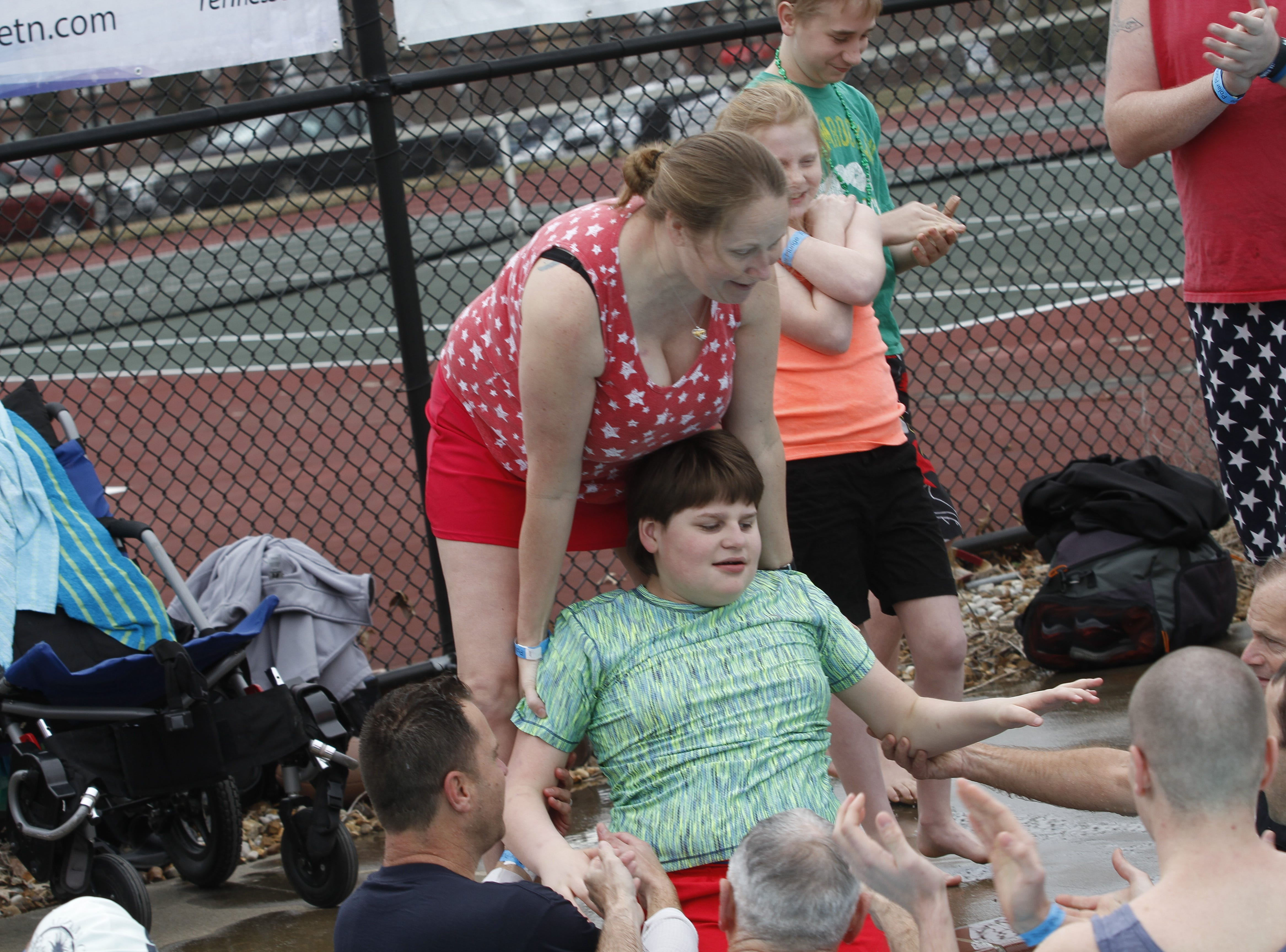 Over $10,000 raised at Special Olympics Polar Plunge