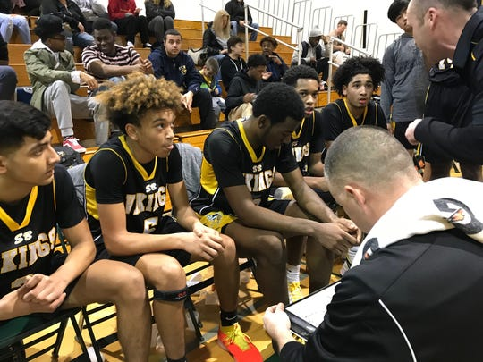 The South Brunswick boys basketball team is enjoying a resurgence late in the season.